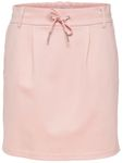 Only Damen Rock Onlpoptrash Easy Skirt Luftiger Sommer Rock gr.34-42 schwarz-rosa [4]