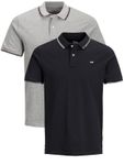 JACK & JONES Herren Poloshirt Jjecontrast Stripe Polo SS  [1]