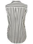 VERO MODA Damen Top-Bluse Vmerika S/L Stripe Shirt 10193156 [5]