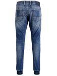 Jack & Jones Herren Jeans-Hose JJISimon JJClay Cuff Antifit Jogg-Jeans mit Kordel-zug [2]