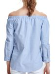 Only Damen Shirt onlDrew off Shoulder Top schulterfreie Bluse [4]