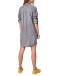 VERO MODA Damen Jeans-Kleid VMSilla Short Dress grau [2]