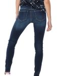 Only Damen Hose OnlCarmen Regular Skinny Jeans 15159025 [3]