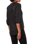 VERO MODA Damen Bluse VMErika Checker 3/4 Shirt XS-XL kariert [3]