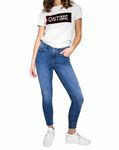 Pieces Damen Skinny Jeans-Hose Five Delly Jeggings [2]