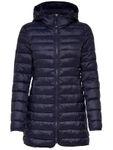 Only Damen Stepp-Mantel Tahoe Coat Übergangsjacke mit Kapuze [5]