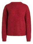 Pieces Damen Langarm Woll-Pullover Bluse PcFortuna [4]