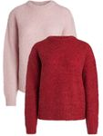 Pieces Damen Langarm Pullover PcFortuna Wolle [1]