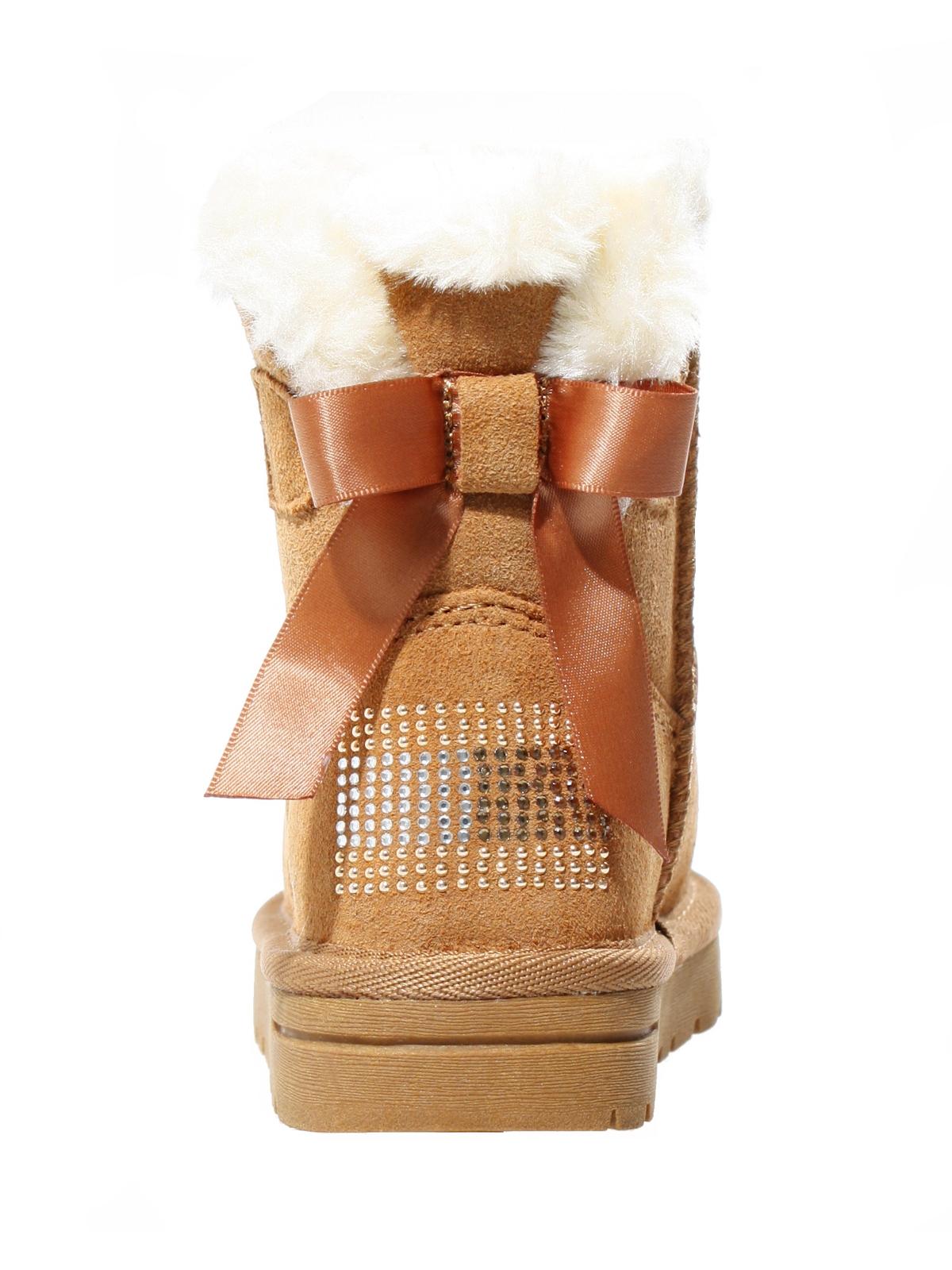 422a5ad696 Tommy Hilfiger Kinder Boots Winter Stiefel Schuhe für Mädchen Lammfell  Leder 4
