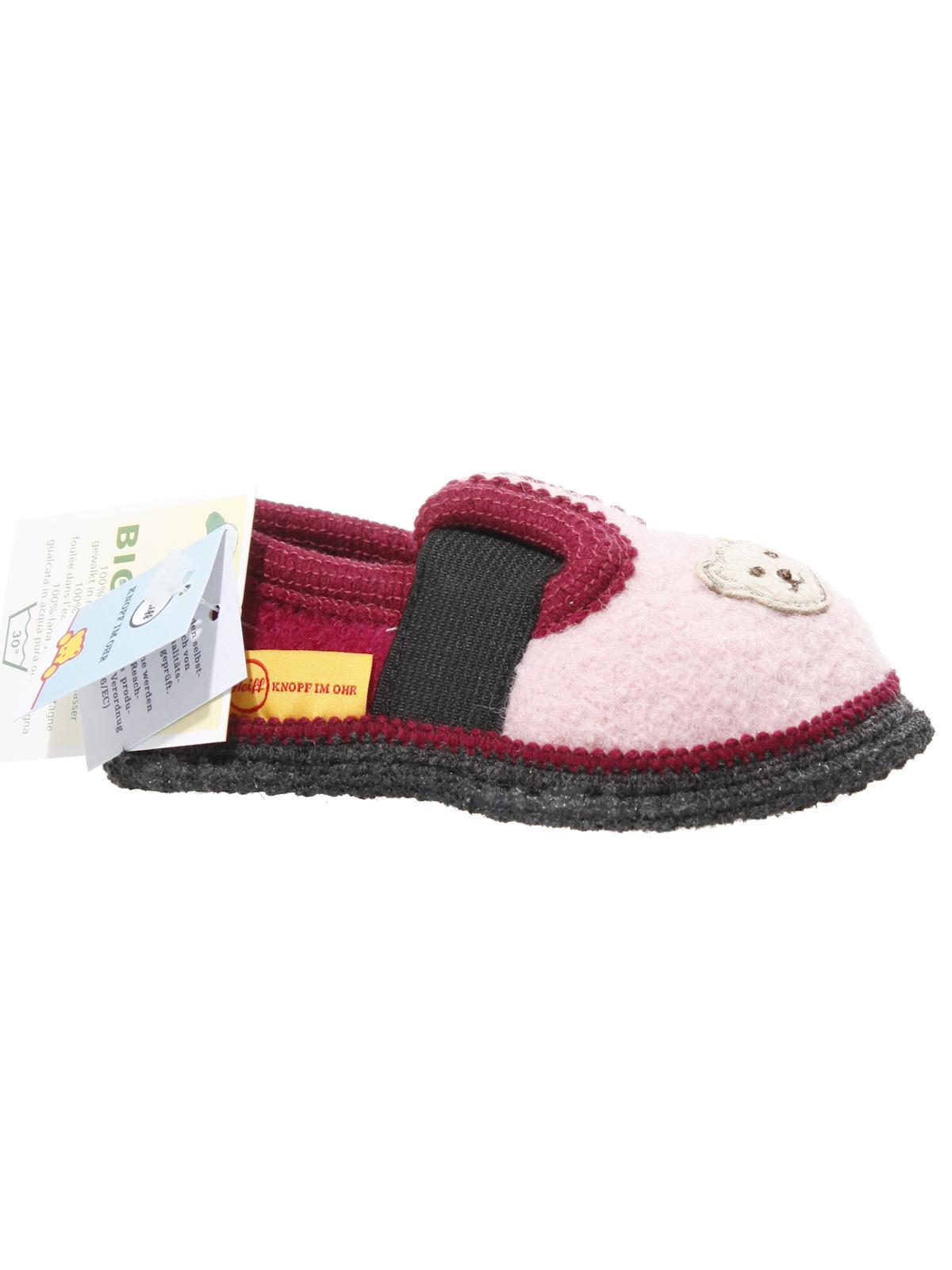 finest selection c02e7 60d18 Steiff Knopf im Ohr Schuhe - Hausschuhe für Kinder