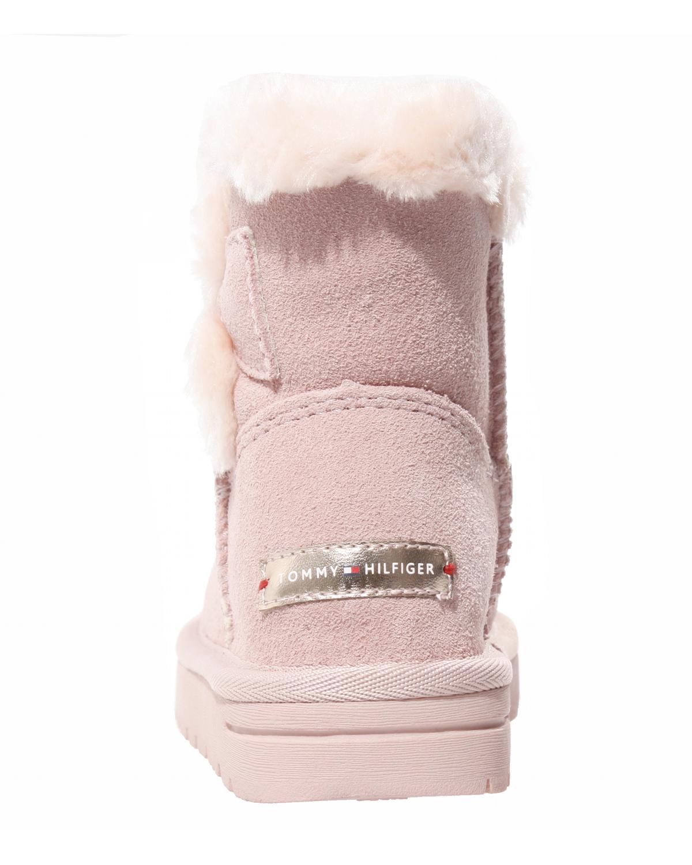 4c3d0bc4e51180 Tommy Hilfiger Kinder Boots Winter Schuhe für Mädchen Schuhe Kinder