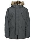 Jack & Jones Herren Mantel Fell Kapuze Winter-Jacke Jorarctic Kapuzen Parka [4]