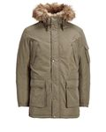 Jack & Jones Herren Winter-Jacke Big Size Kapuzen Parka [3]