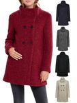 Only Damen Woll-Mantel onlSophia Boucle Wool Coat Kurzmantel [1]