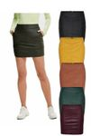 Only Damen Rock in Kunstleder OnlBase Faux Leather Skirt kurz [1]