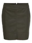 Only Damen Rock in Kunstleder OnlBase Faux Leather Skirt kurz [5]