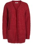 Pieces Damen Cardigan Langarm Pullover Strickjacke Fortuna 001