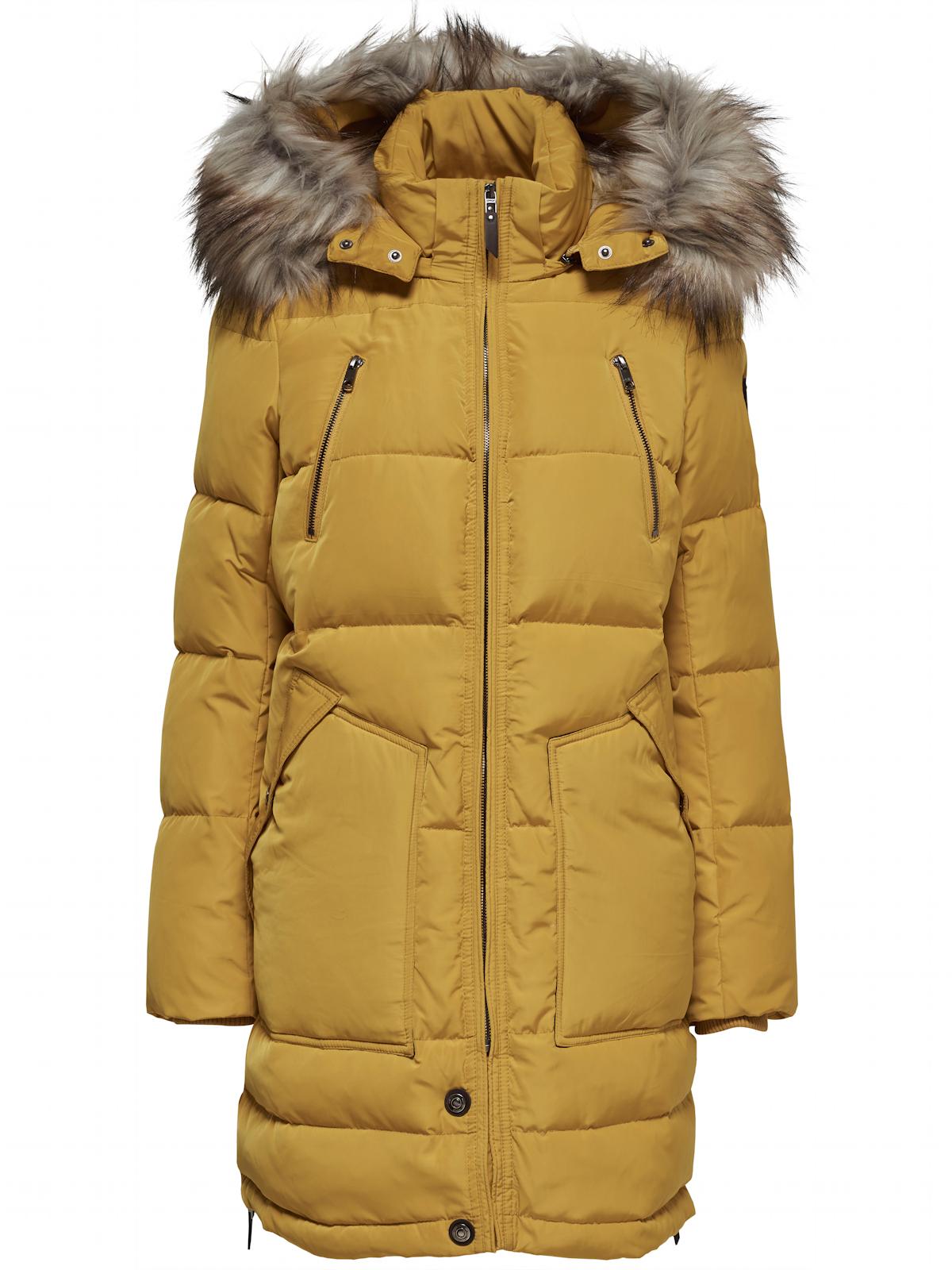 neueste auswahl abwechslungsreiche neueste Designs Outlet-Verkauf Only Damen Wintermantel Jacke Daunen Parka Rhoda mit Fellkapuze