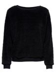 Only Damen Sweater ELLIE Langarm Teddyfell Pullover [1]