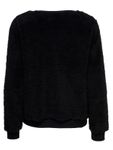 Only Damen Sweater ELLIE Langarm Teddyfell Pullover [2]