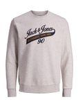 JACK & JONES Herren Pullover JjeLOGO Sweat Crew Neck [4]