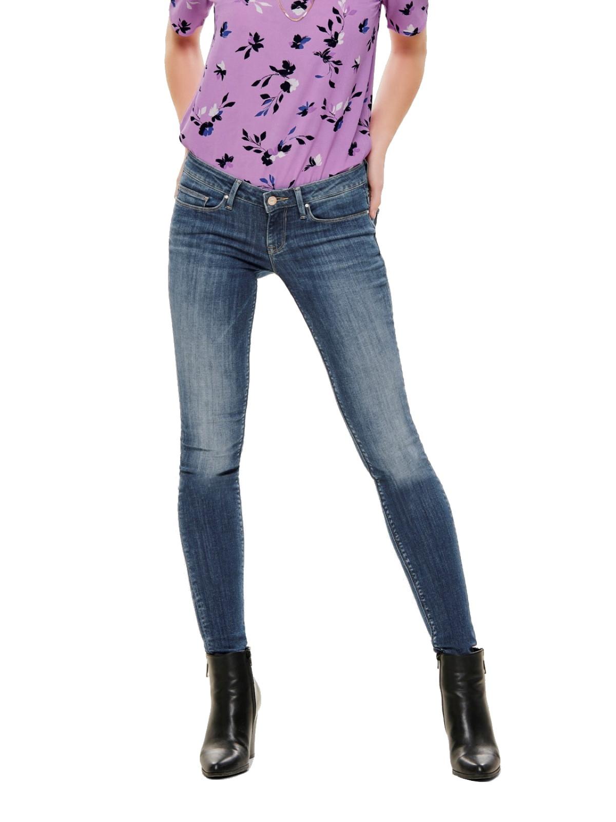 Only Damen Jeans Hose Skinny onlCoral Slim niedriger Bund Low Cut L30 L32  L34 450d9fba77