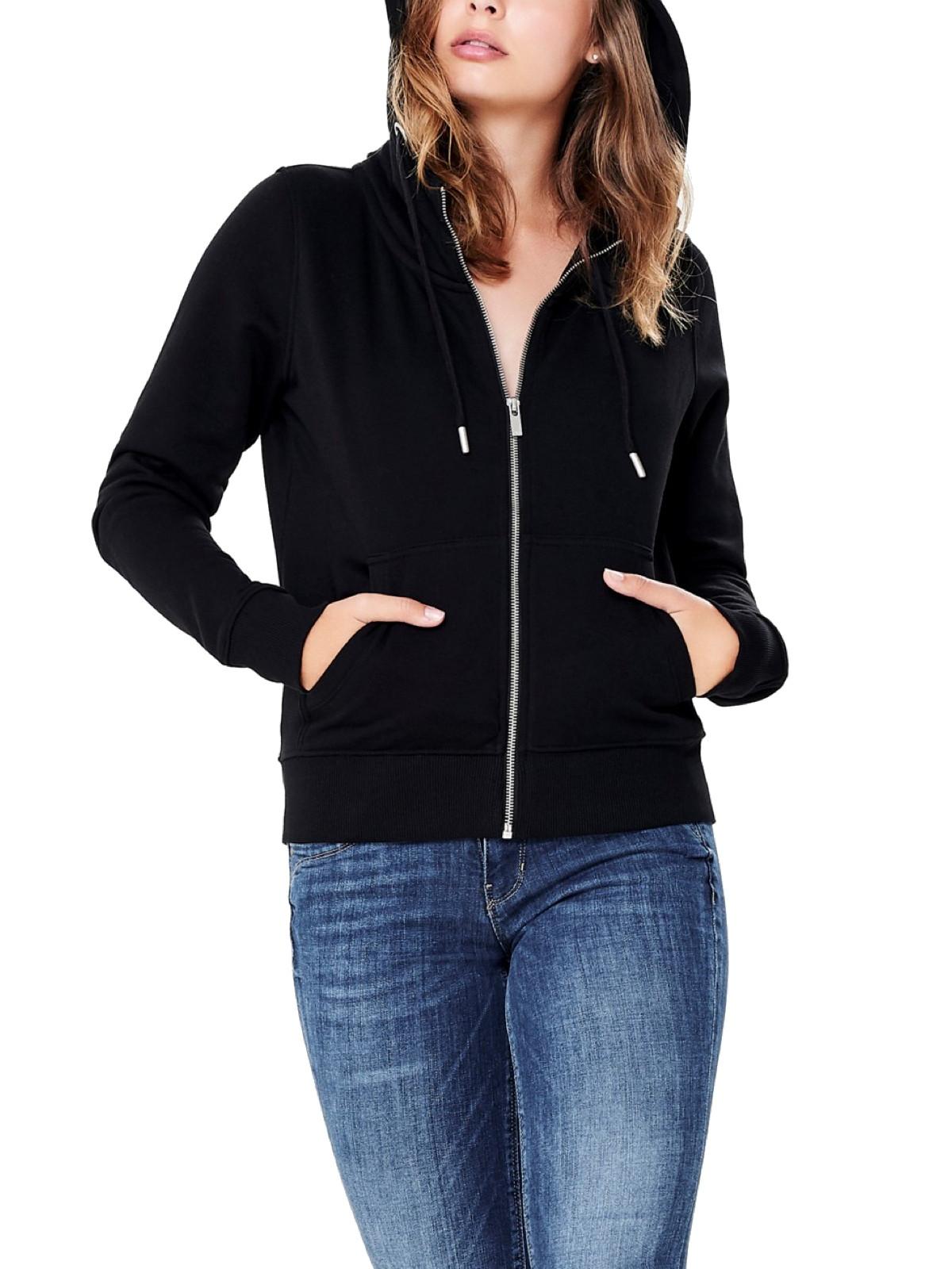 große Vielfalt Modelle Online kaufen modischer Stil ONLY Damen Hoodie OnlMarbella mit Zipper