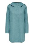 Only Damen-Woll-Mantel onlMaddy Light Hooded Long Coat [1]