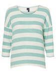 VERO MODA Damen Bluse VMWide Stripe 3/4 Blouse XS-XL gestreift Rundhals T-Shirt [2]