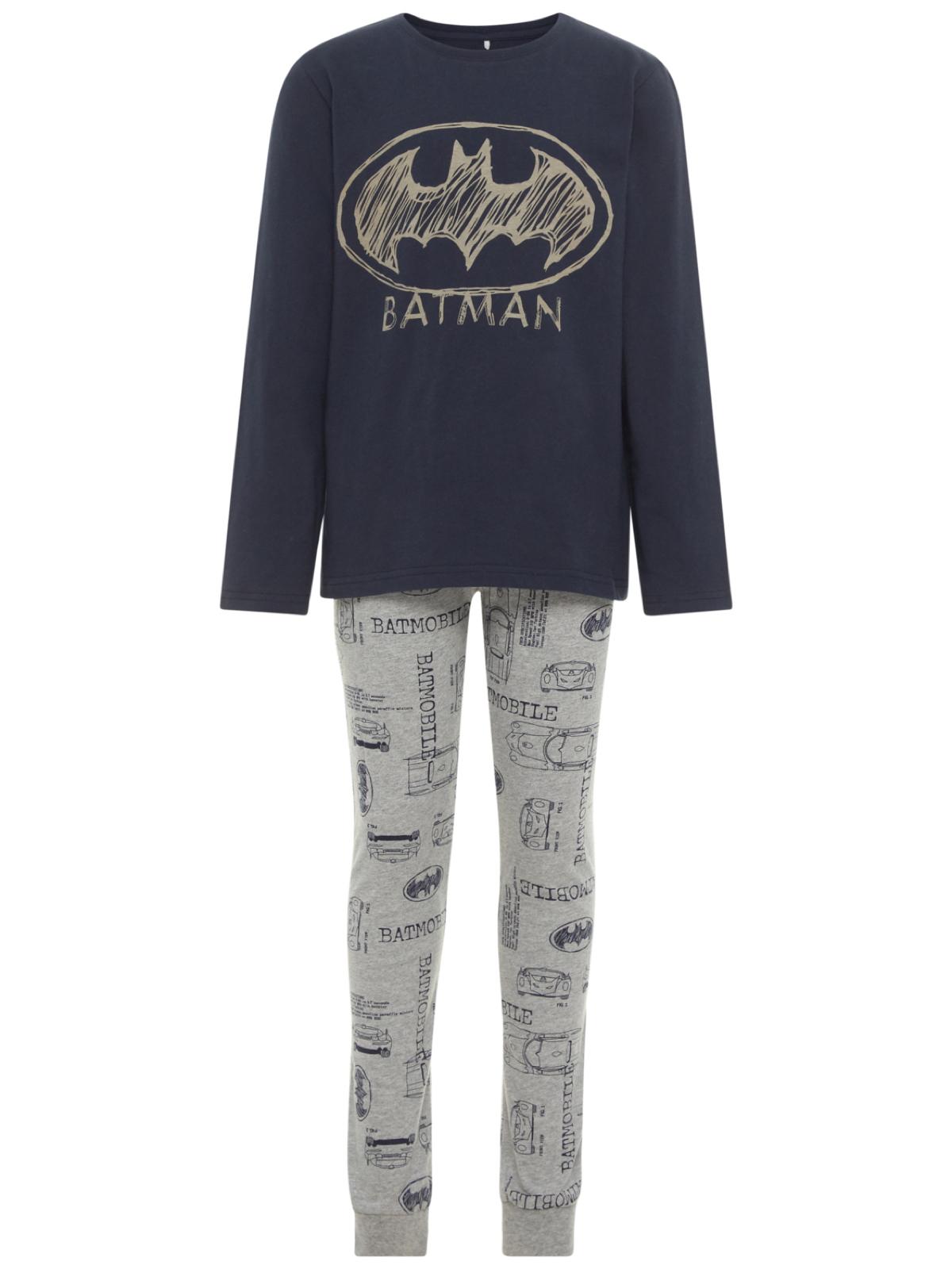 ba30abc755 name it Jungen Pyjama Zweiteiliger Schlafanzug NkmBatman Batman Motiv  Baumwolle
