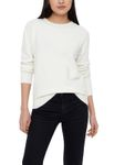 VERO MODA Damen Pullover VMDoffy LS O-Neck Blouse Color [1]