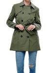 ONLY Damen Mantel Jacke onlLAURA Long Trenchcoat [4]