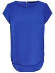 Only Damen T-Shirt Bluse onlVic S/S Solid Top Noos [2]