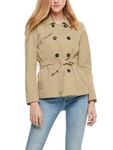 Only Damen Kurz-Mantel Jacke onlLAURA Short Trenchcoat [2]