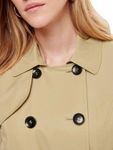 Only Damen Kurz-Mantel Jacke onlLAURA Short Trenchcoat [4]