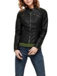 Only Damen Kunstleder Jacke onlFLORA Faux Leather Jacket [1]