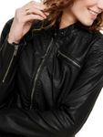 Only Damen Kunstleder Jacke onlFLORA Faux Leather Jacket [4]