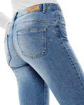 Only Damen Jeans onlDaisy Reg PushUp Skinny blau Ank [4]