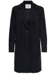 ONLY Damen-Mantel onlAstrid Linda Coat dunkelblau Wollmantel [1]