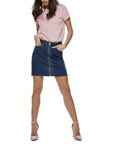 Only Damenrock Jeans-Rock onyPearl HW MB ZIP Skirt [1]