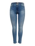 Only Damen Hose Skinny-Jeans onlPAOLA Light Blue Denim [4]