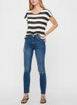Vero Moda Damen T-Shirt VMWide Stripe 10190017 [3]