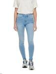 Only Damen Hose Skinny Jeans onlRoyal mit hohem Bund 15169037 [2]