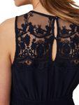 Vero Moda Damen Kleid vmVanessa Sl Short Dress mit Spitze [4]