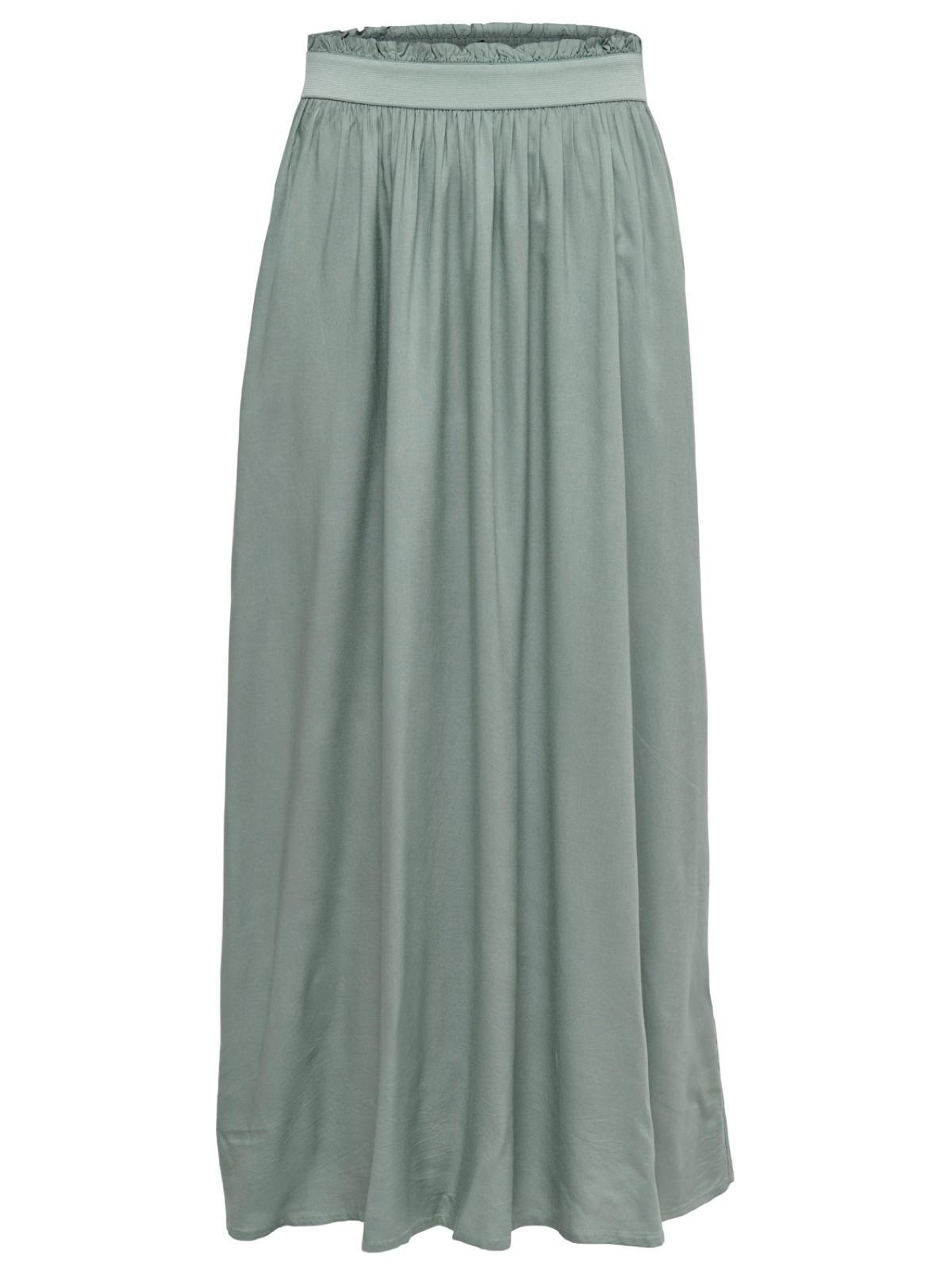 new concept c64f4 03cb8 Details zu Only Damenkleid Maxirock onlVenedig Paperbag Long Skirt  Faltenrock lang Gr XS XL