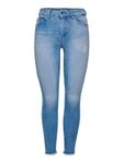 Only Damen Jeans-Hose Skinny Jeans onlBlush Light Blue Denim [4]