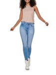 Only Damen Jeans-Hose Skinny Jeans onlBlush Light Blue Denim [1]