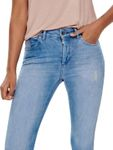 Only Damen Jeans-Hose Skinny Jeans onlBlush Light Blue Denim [3]