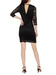 Vero Moda Damen Kleid VMSandra 3/4 Lace Dress Spitze sexy [4]