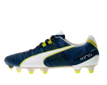 Puma Herren Fußball Schuhe King II FG 103147 01 blau weiß